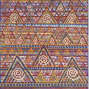 FERNANDO LUCCHESI<br>Africanas AST<br>100 x 130 Ass. Verso<br>