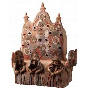 Iralda Capela - Vida no Interior - Cerâmica - 45 x 40 x 25 - Ass. Verso
