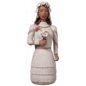 D. Isabel - A Noiva - Cerâmica - 80 x 30 x 22 - Ass. Base