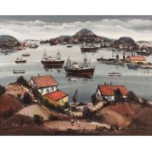 Sylvio Pinto - Ponta da Areia - OST - 65 x 81 - 1969 - ACID