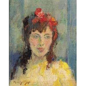 Manoel Santiago - A Menina da Blusa Amarela - OST - 46 x 38 - 1965 - ACIE - Esta obra foi agraciada com o Grande Prêmio do IV Centenário de Belas Artes Turismo 1965 - Salão Nacional 1965.