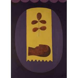 Antônio Maia - Procissão Milagrosa - AST - 73 x 100 - 1966 - Ass. Verso - Com carimbo no verso do SNAM - 1966
