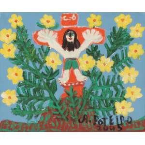 Antônio Poteiro - Cristo da Primavera - OST - 25 x 30 - 2005 - ACID