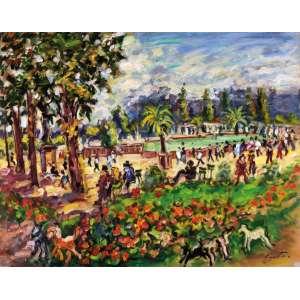Sérgio Telles - Jardim de Luxemburgo - OST - 73 x 92 - ACID