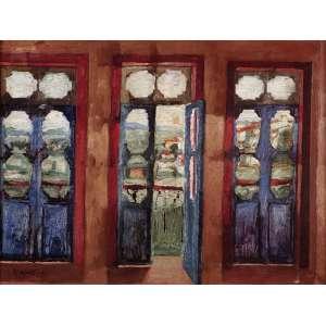 Ivan Marquetti - Atelier em Ouro Preto - OST - 46 x 61 - 1966 - ACIE e Verso