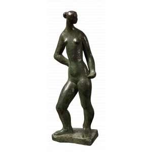 Sônia Ebling - Sofia - Escultura em Bronze - 34 x 11 - Não Assinada