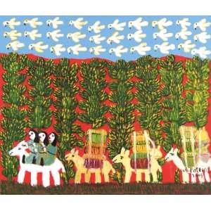 Antônio Poteiro - Viajantes do Pantanal - OST - 60 x 70 - 2003 - ACID