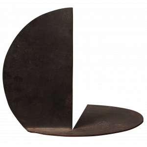 Amílcar de Castro - Múltiplo - Escultura em chapa de aço e dobra redonda - 21 x 0,3 - Déc. 80 - Catalogadapelo Instituto Amílcar de Castro 01.17.02.01.2313