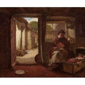 Modesto Brocos - Amor Materno - OST - 25 x 30 - 1895 - ACID