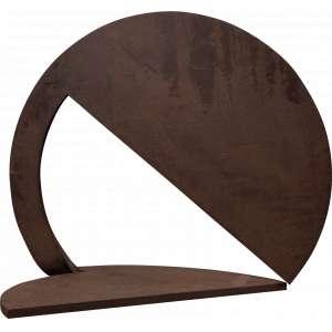 Amílcar de Castro - Escultura de corte e dobra redonda – Aço SAC 40 - 50 cm e 1,2 polegadas - 1996 - Obra catalogada no Instituto Amílcar de Castro Sob. Nº CA 000.648