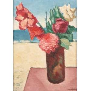 "Quirino Campofiorito - ""A cor das flores"" - OSD - 31 x 22 - Niterói 6-XI-1982 - ACID e Verso"