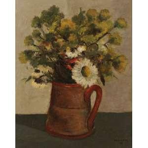 José Pancetti - Vaso com girassóis e outras flores - OST - 41 x 33 - 1943 - ACID