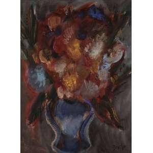 Carlos Bracher - Vaso com flores - OST - 73 x 54 - 1987 - ACID