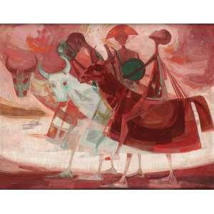 Enrico Bianco - Bumba Meu Boi - OSD - 55 x 70 - 1968 - ACID - Reproduzido no livro do artista à Pág. 204. Tombo 569