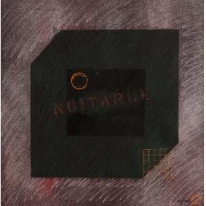 """Rubens Gerchman - """"Noitarde"""" Explendor Solis - Pastel s/ Cartão - 44 x 44 - 1979 - ACID"""