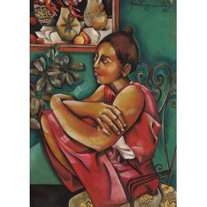 Yara Tupynambá - Figura Feminina - OSD - 70 x 50 - 1982 - ACSD
