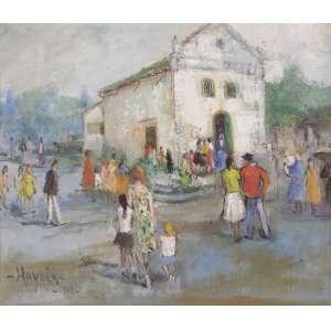 """Haydea Santiago - """"Domingo"""" - OST - 45 x 55 - 1969 - ACID - """"Igreja do Santuário Campo de São Bento"""""""