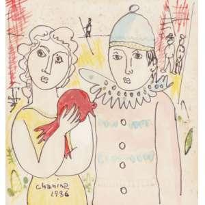 Chanina - Artistas Circenses - TM - 13 x 13 - 1986 - ACIE