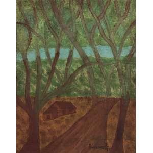 Lorenzato - Dança das Árvores - Cabana Pai Tomás - OSD - 48 x 38 - ACID