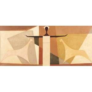 Lula Cardoso Ayres - Cena em Geometrias - OST - 40 x 90 - 1956 - ACID e Verso