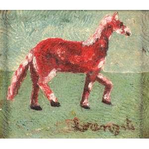 Lorenzato - O cavalinho - OSD - 12 x 13 - ACID - Ex-coleção Telma Kalil