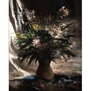 Enrico Bianco - Vaso de Flores - OST - 100 x 80 - 1947 - ACID