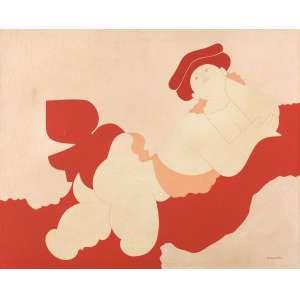 Milton Dacosta - Vênus e Pássaro - OST - 40 x 50 - Rio 1971 - ACID e Verso