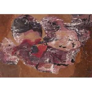 Yolanda Mohalyi - Abstração - Guache sobre cartão - 48 x 68 - 1968 - Ass. Canto inferior direito