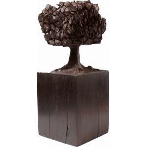 José Bento - Árvore - Escultura em madeira - Com 35cm - Ass. na base