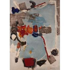 Maria Polo - Sem Título - Óleo sobre tela - 80 x 60 - 1965 - Ass. Canto inferior direito