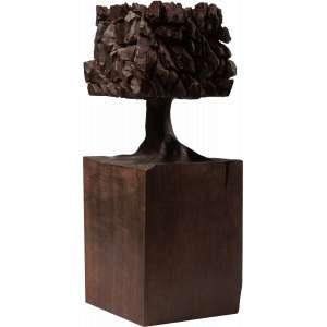José Bento - Árvore - Escultura em madeira - 35 cm - Ass. Na base