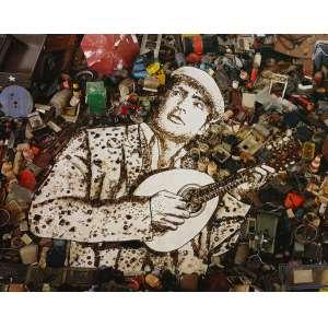 """Vik Muniz - """"Minstrel"""" - Pictures of junk digital print/3 - 180 x 230 - Obra que participou da introdução da novela """"Passione""""- Rede Globo"""