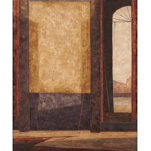 José Paulo Moreira da Fonseca - Portal - Óleo sobre tela - 54 x 42 - 1979 - Ass. Canto inferior esquerdo