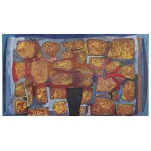 Carlos Vergara - Alto Mar - Óleo sobre tela - 200 x 350 - 2008 - Ass. Verso