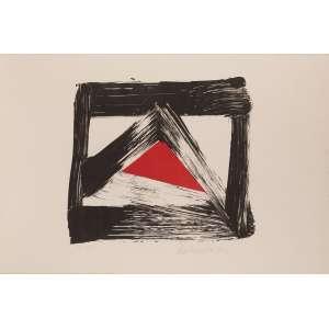 Amílcar de Castro - Litho 3/12 - 62 x 91 - 1990 - Ass. Canto inferior direito