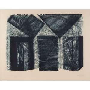 Maria Bonomi - Abstração – Santiago de Compostela - Litho 4/50 - 70 x 90 - Ass. Canto inferior direito