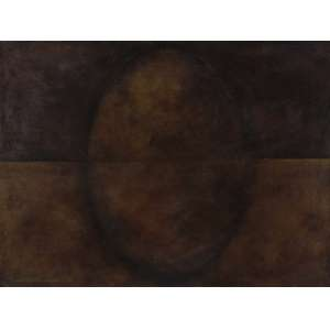 Ana Maria Maiolino - Sem Título - Óleo sobre tela - 60 x 80 - 1986 - Ass. Verso