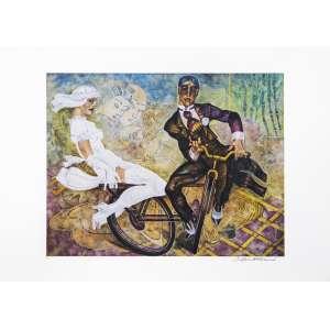 Juarez Machado<br />Viva os noivos - P.A. - Serigrafia 50x70 cm - A.C.I.D (sem moldura)