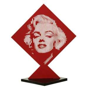 Marcos Marin<br />Marilyn Monroe 2/15 - Madeira - 61x54 cm - A.L.I.D