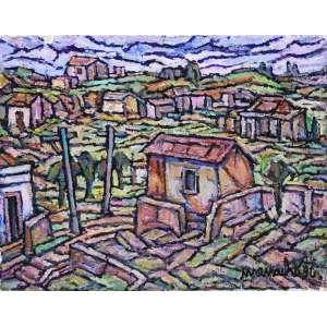 Manoel Martins Menacho<br />Jaragua -SP - Óleo sobre tela - 30x38 cm - 1996 - A.C.I.D