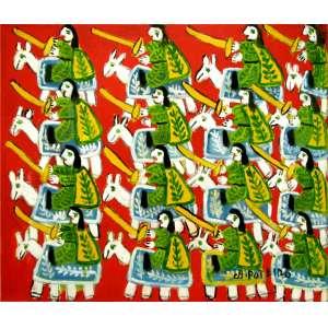 Antonio Poteiro<br />Guerreiros - Óleo sobre tela - 60x70 cm - 2008 - A.C.I.D.