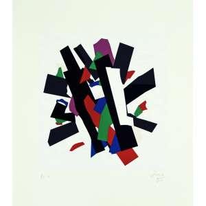 Eduardo Sued<br />Sem título - P.A. - Serigrafia - 82x72 cm - 2011 - A.C.I.D