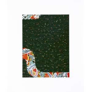 Kazuo Wakabayashi<br />Carpas P.A. - Serigrafia - 61x50 cm - 2013 - A.C.I.D. (sem moldura)