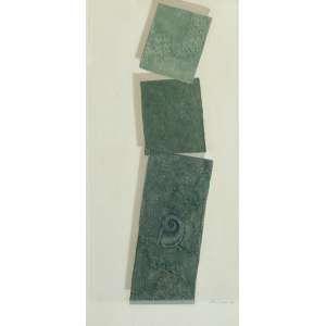 Cleber Gouvea, Sem Título, Óleo sobre tela, medindo 120 x 50 cm, assinado e datado 1988 , CID.