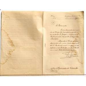 Descrição do documento: Carta assinada por RIO BRANCO, com o objetivo de informar ALVARO DE ASSIS OSÓRIO MENDES (Governador do estado do Piauí de 1904 a 1907) a nomeação de JOAQUIM ANTÔNIO DOS SANTOS para VICE-CONSUL DE PORTUGAL na Paraíba, pedindo que tome providencias para o reconhecimento do mesmo em seu estado.<br /><br /><br />Transcrição do documento:<br /><br />Rio de Janeiro Ministério das Relações <br />Exteriores 28 de Agosto de 1905<br /><br />Sr. Governador,<br />Tenho a honra de comunicar a V. Ex que foi concedido exquatur á nomeação do Sr. JOAQUIM ANTONIO DOS SANTOS para Vice-Consul de Portugal em parahyba.<br /><br />Rogando a Vs. Ex. que se digne de providênciar para o reconhecimento do Sr. Santos, aproveito o ensejo para lhe reiterar os protestos de minha alta estima e mui distincta considederação.<br />RIO BRANCO<br /><br />Ao S. Ex o Sr. Governador do Estado do Piauhy.<br /><br />Documento carimbado<br />MEDIDAS: 34 X 22 CM. <br />