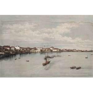 ARTISTA VIAJANTE – PERIODO DO IMPÉRIO<br /><br />Victor Frond - (França 1821-1881)<br />Impressão Lebetreon Lith,<br />Impressa por Lemercier - Paris em 1861<br />57 x 73 cm.<br />Campos dos Goitacazes<br />Litografia aquarelado a mão.<br /><br />Victor Frond foi militante republicano francês, atuando ao lado do escritor Victor Hugo. Em 1852, foi preso e deportado para a Argélia, de onde fugiu a Inglaterra, transferiu-se para Portugal e provavelmente estudou fotografia com Alfred Fillon, francês e companheiro de fuga da Argélia. <br />Tornou-se fotógrafo da Casa Real Portuguesa. <br />Chegou ao Brasil em outubro de 1856 <br />Em 1857 tornou-se proprietário de um estúdio fotográfico no Rio de Janeiro. <br />Além da cidade do Rio de Janeiro, fotografou, para o álbum de vistas da obra Brasil Pitoresco, fazendas do interior, Campos dos Goytacazes, São Fidélis e Salvador. <br />Em meados da década de 1860 retornou à França onde faleceu em 1861.