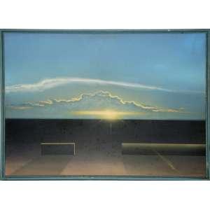 Ivan Freitas<br />Medidas: 50 x 70 cm<br />O.S.P.<br />Pôr do sol, 1986 – a.c.i.d.