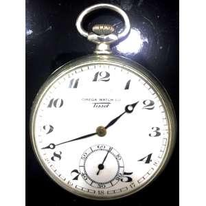 f38d22d2b60 166. Relógios -  Relógios de bolso. RARO RELÓGIO OMEGA WATCH Co   TISSOT.