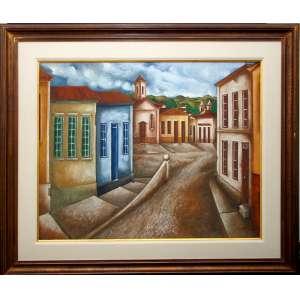 Tobias Marcier<br />Cidade Histórica Mineira<br />O.S.T<br />Medidas: 80 X 100 cm