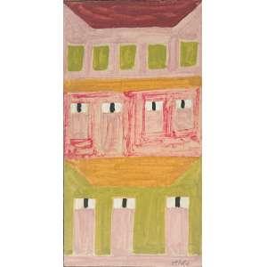 Alfredo VOLPI (Lucca, Itália, 1896 — São Paulo, 1988)<br />29x15 cm.<br />T.S.C.<br />Fachada<br />Catalogado no Projeto Volpi<br />IAVAM 2894<br />Dec de 1950<br />